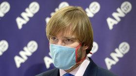 Sněmovna o koronaviru: Adam Vojtěch na tiskovce ANO (21. 4. 2020)