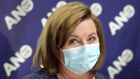 Sněmovna o koronaviru: Alena Schillerová na tiskovce ANO (21.4.2020)
