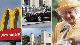 Královna Alžběta vlastní spoustu cenného, ale i celkem bizarního majetku.