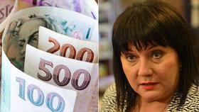 Ministryně financí Alena Schillerová (za ANO) uvedla v ČT, že opatření na podporu ekonomiky činí 1,2 bilionu Kč.