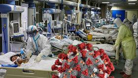 """""""Už nemůžu,"""" běduje Čínan, který s koronavirem bojuje už přes dva měsíce."""