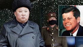 Kim se považuje za severokorejského J. F. Kennedyho, tiskem se šíří zprávy o jeho nahnutém zdraví.
