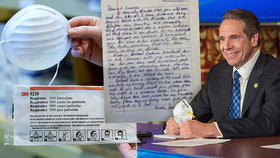 Guvernér New Yorku Andrew Cuomo dostal dojemný dopis od  farmář z Kansasu.