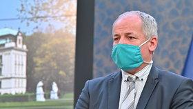 Epidemiolog Roman Prymula po jednání vlády (27. 4. 2020)