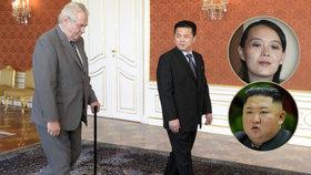 O pozici nového severokorejského vůdce by mohl bojovat bývalý velvyslanec KLDR v Praze.
