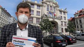 Jiří Pospíšil (TOP 09) navrhuje poskytovat v rámci pomoci podnikatelům poukázky.