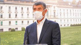 Vláda o koronaviru: Andrej Babiš (24. 4. 2020)