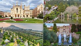 Dechberoucí zahrady z celého světa