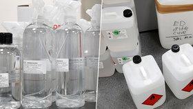 Opozice Prahy 4 má problém s údajně předraženými nákupy dezinfekce. Žene kvůli nim před odpovědnost starostku Michalcovou, o její odvolání bude usilovat. (ilustrační foto)