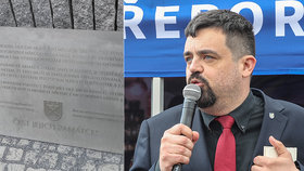 Pavel Novotný dohlížel na vztyčení pomníku vlasovcům v pražských Řeporyjích. (ilustrační foto)