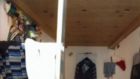 V místnosti o rozměrech 2,5m x 1,8 m strávila Natascha většinu z 8,5 let v zajetí.