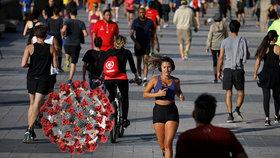 Španělé se vydávají do ulic za sportem, nemohou ale dál než kilometr od domova