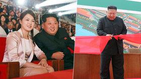 Kim se po dlouhé době objevil na veřejnosti.