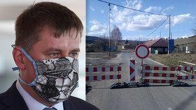 Ministr Petříček vyrazil jednat se Slováky a Rakušany o situaci na hranicích.