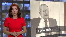 """Nora Fridrichová v pořadu 168 hodin na ČT rozebírala """"hradní mlčení"""" kolem tlaku na Jaroslava Kuberu."""