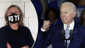 Někdejší první dáma Spojených států a bývalá ministryně zahraničí Hillary Clintonová (72) podpořila prezidentskou kandidaturu bývalého viceprezidenta Joea Bidena.