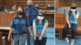 Soud v Hradci Králové poslal Brigitu (19) za vraždu novorozené holčičky za mříže na 16 let. Rozsudek není pravomocný.