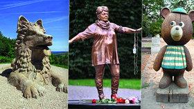 Šest kuriózních pomníků z celého Česka: Pomni, člověče!