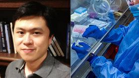 V USA byl zavražděn čínský vědec Ping Liou (†37), který zkoumal koronavirus.