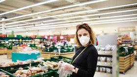 V obchodě mají ochranné rukavice význam, ale po použití je vyhoďte,  neschovávejte si je najindy.