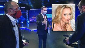 Televizní debatu kritizovala i její bývalá hvězda Kateřina Brožová. (6. 5. 2020)