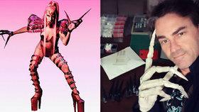 Lady Gaga použila pro svou novou image mechanické drápky, jejich materiál pochází ze Zlína.