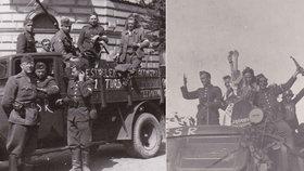 Do osvobozovacích bojů v Praze v roce 1945 se zapojili i četníci z Hořovic: Proč jen stíny, když bylo světlo