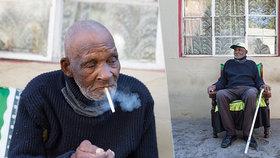 Nejstarší muž světa (116) zažil španělskou chřipku: Na pandemii koronaviru ho štve, že si nemůže koupit cigarety