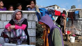 Iráčanky se po útěku před boji s IS nemohou vrátit domů.