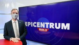 Primátor hlavního města Prahy Zdeněk Hřib (Piráti) hostem pořadu Epicentrum 12.5.2020