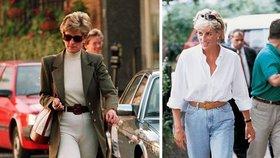 Princezna Diana měla vytříbený módní vkus.