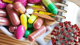 Pozor na některé doplňky stravy, proti koronaviru vám nepomůžou (ilutrační foto)