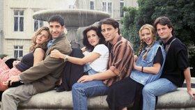 Seriál Přátelé je úspěšný i po 25 letech.
