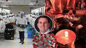 Americký imunolog a biolog uvedl příklady, kdy k šíření koronaviru docházelo nejvíce.