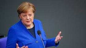 Koronavirus v Německu: Kancléřka Merkelová řečnila o pandemii v Bundestagu (13. 5. 2020)