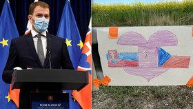 Slovensko chce brzy otevřít hranice