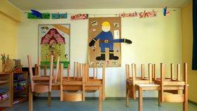 Zavřená mateřská škola v Německu kvůli koronaviru