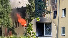 Tragický požár v Havířově nepřežily dvě děti: Třetí zachránil kolemjdoucí