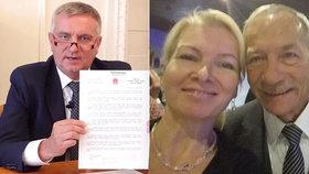 Hradní kancléř Mynář opět zpochybnil znění čínského dopisu adresovaného Jaroslavu Kuberovi. Dcera zesnulého šéfa Senátu jen kroutí hlavou.