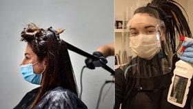 Kadeřnice Terera (23) podepsala petici za zrušení štítu při práci