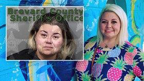 Obvinila hosty z nedodržování sociálního odstupu v baru, přitom se je snažila líbat. Musela si ji odvézt policie.