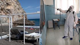 Řecko zahájí turistickou sezónu 15. června, oznámil premiér (20. 5. 2020)