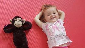 Sofie byla první holčička z Česka, které byl aplikován lék Zolgensma.