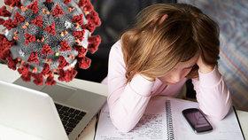 Děti se během karantény potýkaly s větší mírou kyberšikany (ilustračí foto)
