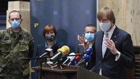Tisková konference k průběhu pandemie: Ministr zdravotnictví Adam Vojtěch (za ANO) (22.5.2020)