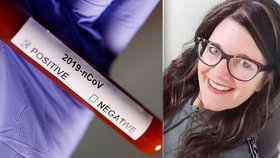 Zdravotní sestra Tracy Schofieldová (49)  má už 50 dní pozitivní test na koronavirus.