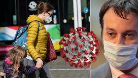 Podle Maďara se povinnost nošení roušek uvnitř bude odvíjet od pandemické situace