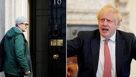 Britové chtějí odvolat Johnsonova poradce, porušil karanténu