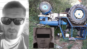 Míra s Vojtou zemřeli při nehodě traktoru.