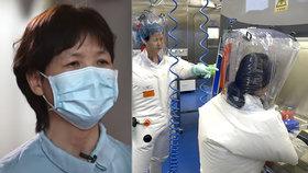 Náměstkyně ředitelky wu-chanského institutu virologie Š' Čeng-li promluvila o koronaviru.